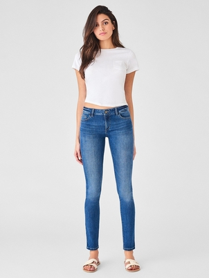 DL1961 Florence Mid Rise Skinny in Dalton Pants