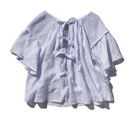 Oliver Top in Lilac Blue