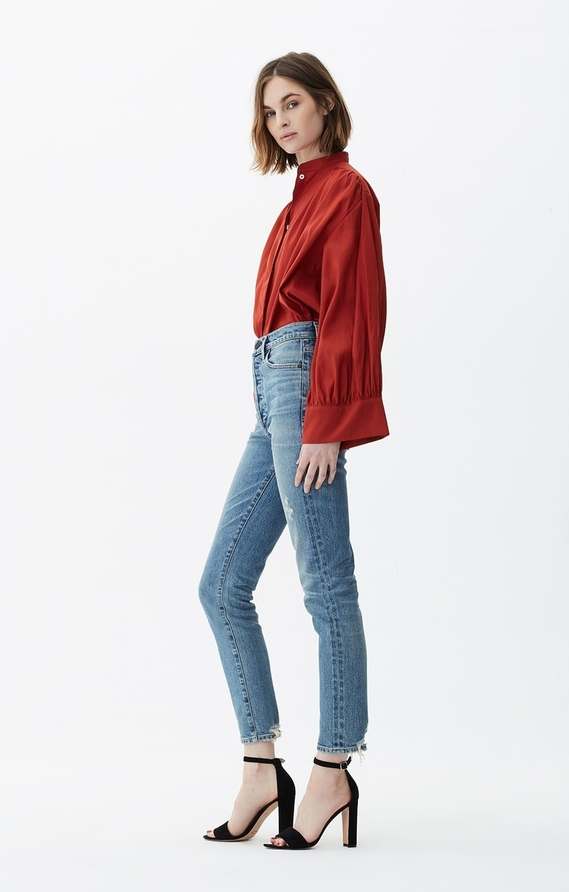 Citizens of Humanity Olivia High Rise Slim Ankle in Backroad Pants