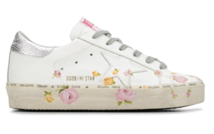Golden Goose Deluxe Brand Floral Hi-Stars Shoes