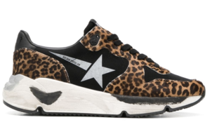 Golden Goose Deluxe Brand Pony Leopard Running Sole Sneakers Shoes