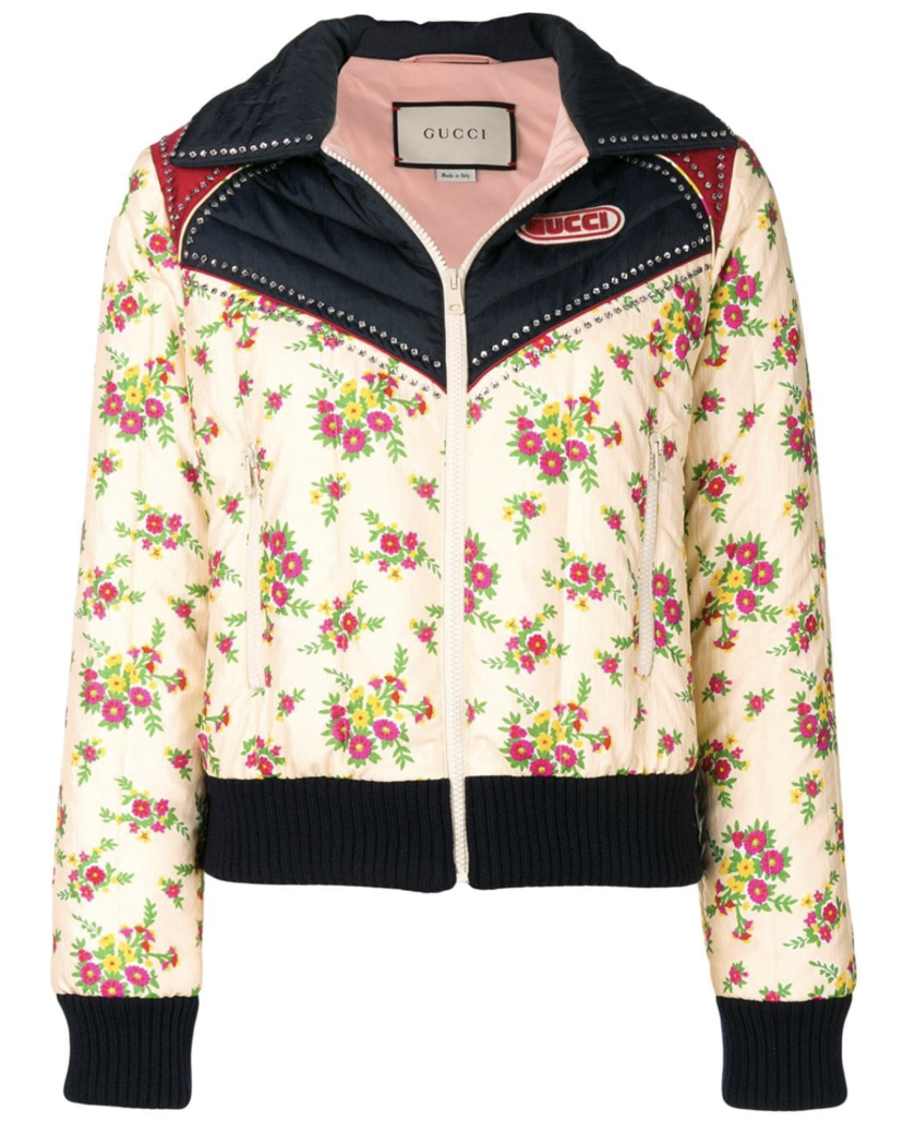 Gucci Floral Bomber Outerwear