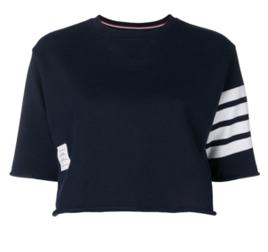 Thom Browne Cropped Knit Top Tops