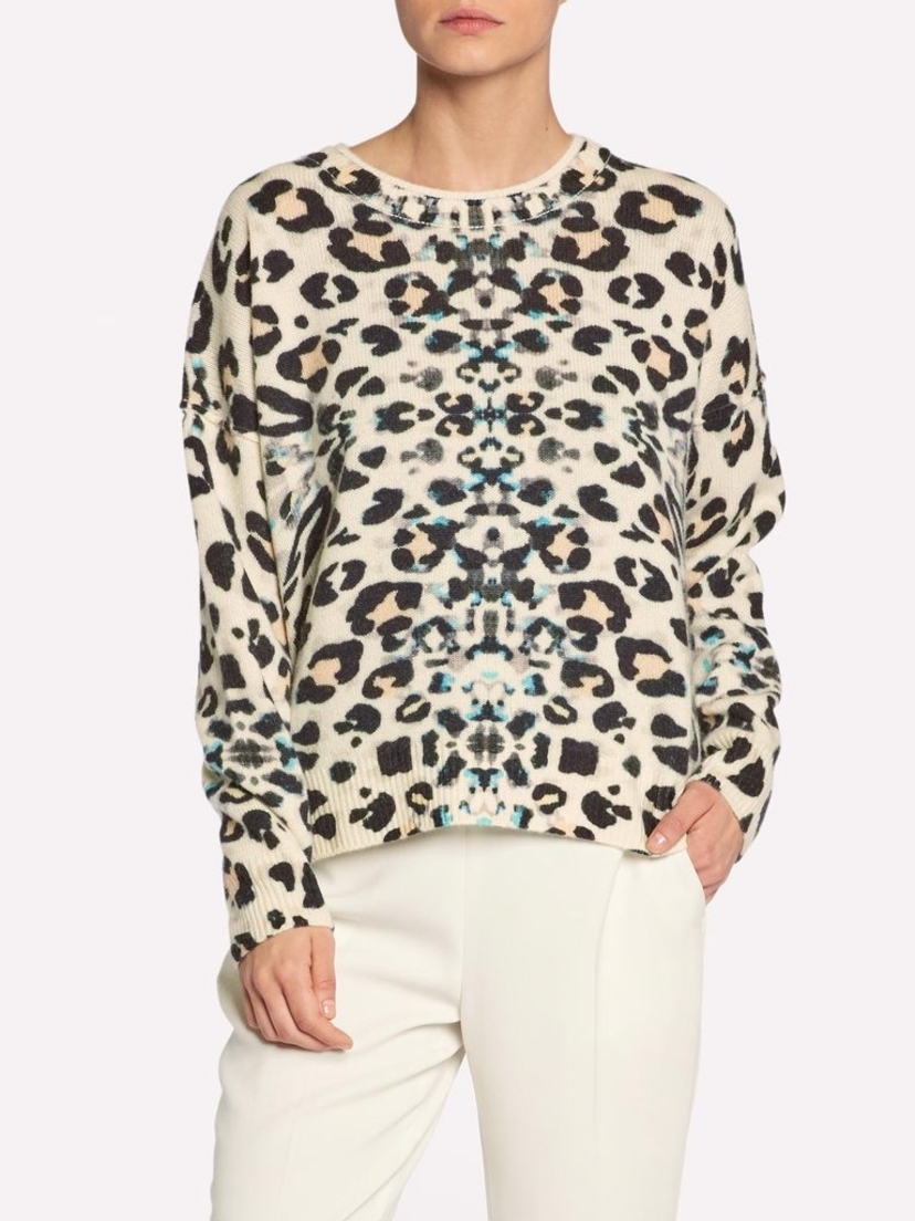 Brochu Walker Brighter Printed Crew Tops