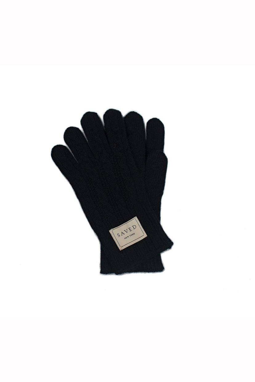 Saved New York Saved New York Cable Gloves Accessories