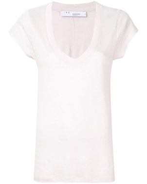 IRO IRO Blush Pink Palmy Top Tops