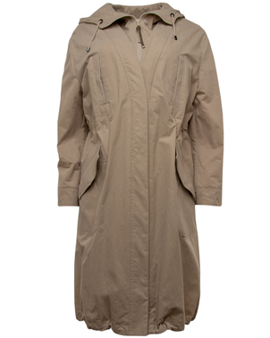 Brunello Cucinelli Brunello Cucinelli Buttermilk Hooded Anorak Outerwear