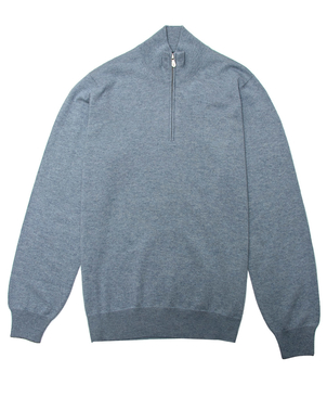 Brunello Cucinelli Brunello Cucinelli Cloud Quarter Zip Sweater Tops