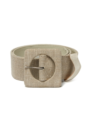 Lizzie Fortunato Agnes Belt In Linen Accessories