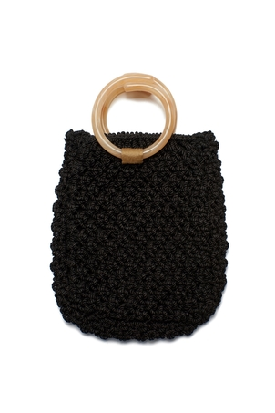 Lizzie Fortunato Mia Purse In Black Bags