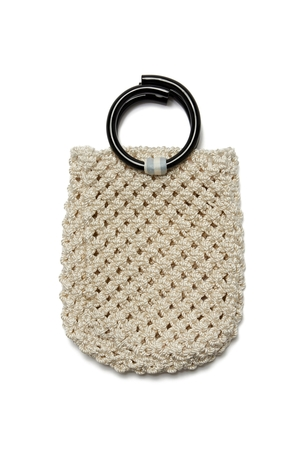 Lizzie Fortunato Mia Purse In Cream Bags