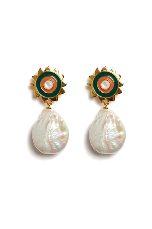 Lizzie Fortunato Sunlit Earrings Jewelry