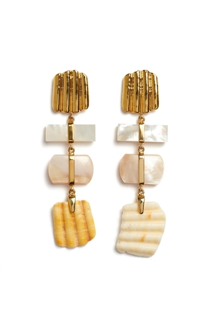 Lizzie Fortunato Botticelli Earrings Jewelry