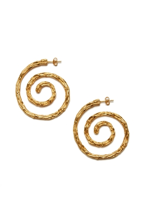 Lizzie Fortunato Spiral Earrings Jewelry