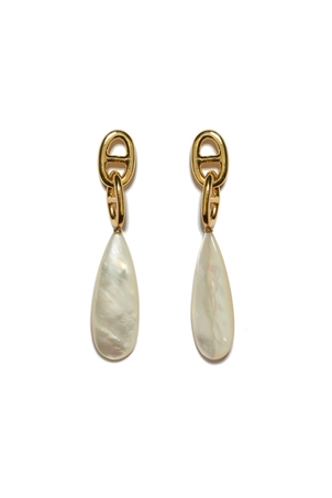 Lizzie Fortunato Grotto Drop Earrings In Pearl Jewelry