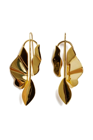 Lizzie Fortunato Golden Coast Earrings Jewelry