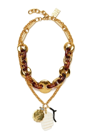 Lizzie Fortunato Elba Necklace Jewelry