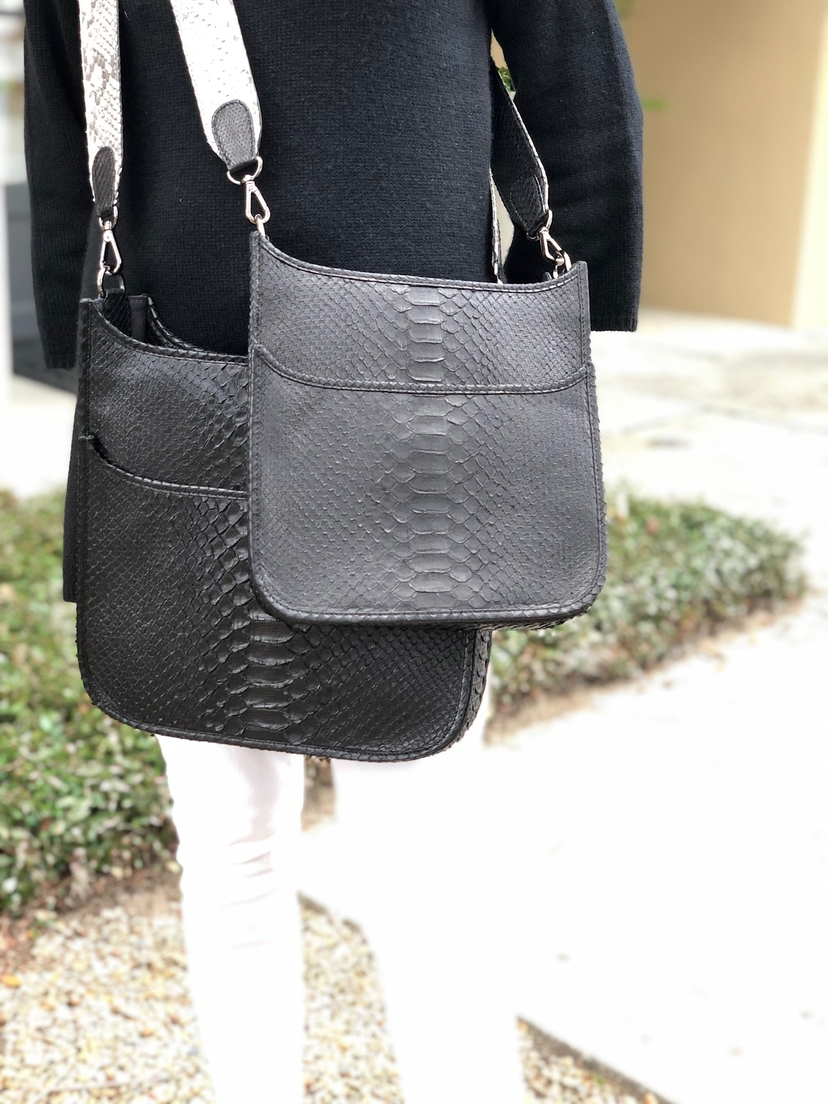 Large Asher Python Bag  (+More Colors) Bags