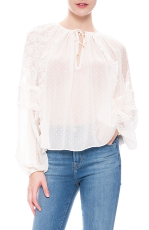 Ulla Johnson Audrey Blouse Tops