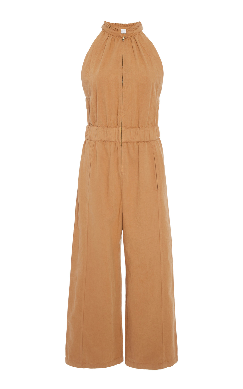 Apiece Apart Archer Zip Front Jumpsuit Sale