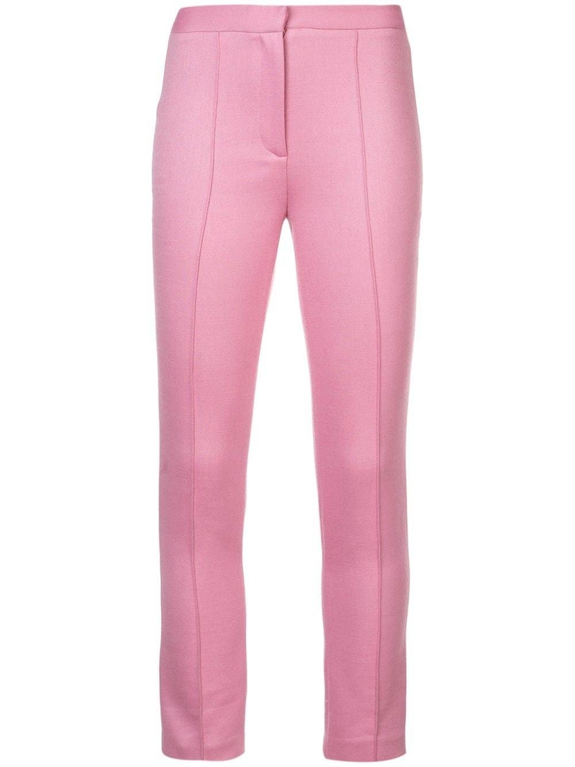 Adam Lippes Adam Lippes - Double Face Cigarette Trousers PNK 4