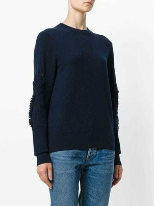 Barrie Barrie Cashmere Black Long Sleeved Sweater Tops