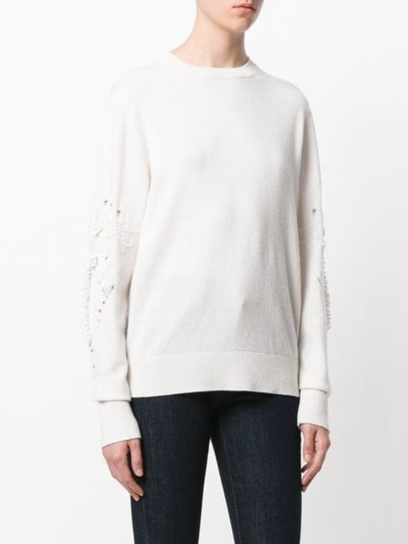 Barrie Cashmere Romantic Timeless Round Neck Tops