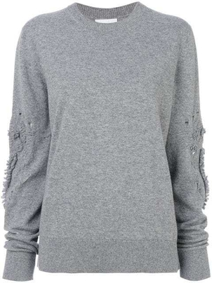 Barrie Barrie Cashmere Romantic Timeless Roundneck Tops