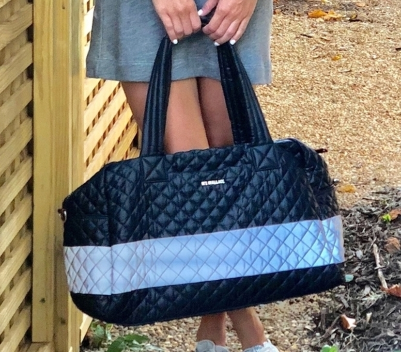 Quilted Duffle Bag Bags
