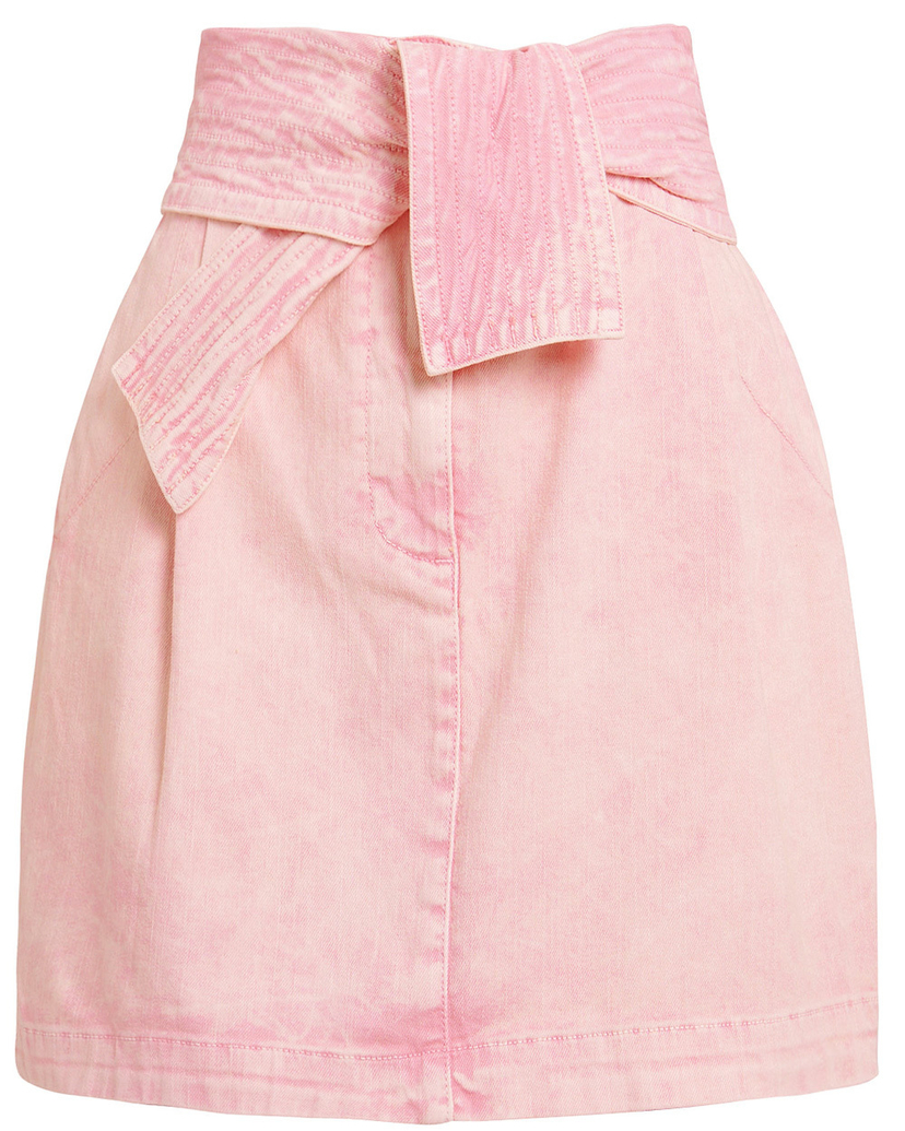 Ulla Johnson Ulla Johnson Rose Drew Mini Denim Skirt Skirts
