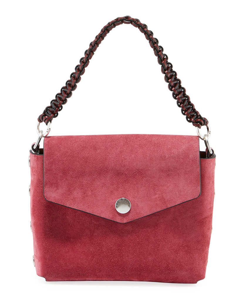 rag & bone Rag & Bone Berry Atlas Suede Shoulder Bag Bags