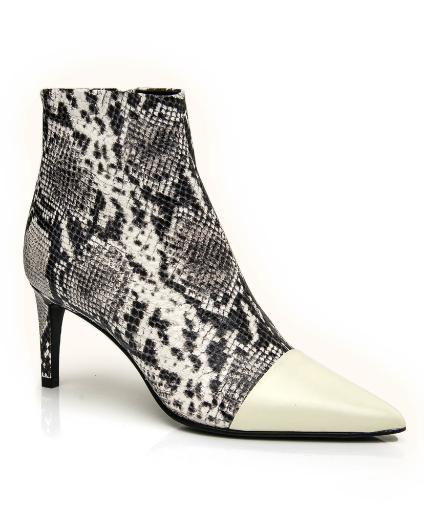 rag & bone Rag & Bone Beha Boot in Black and Whtie Multi Shoes
