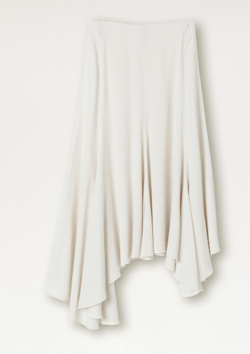 By Malene Birger Asymmetrical Hem Skirt Skirts