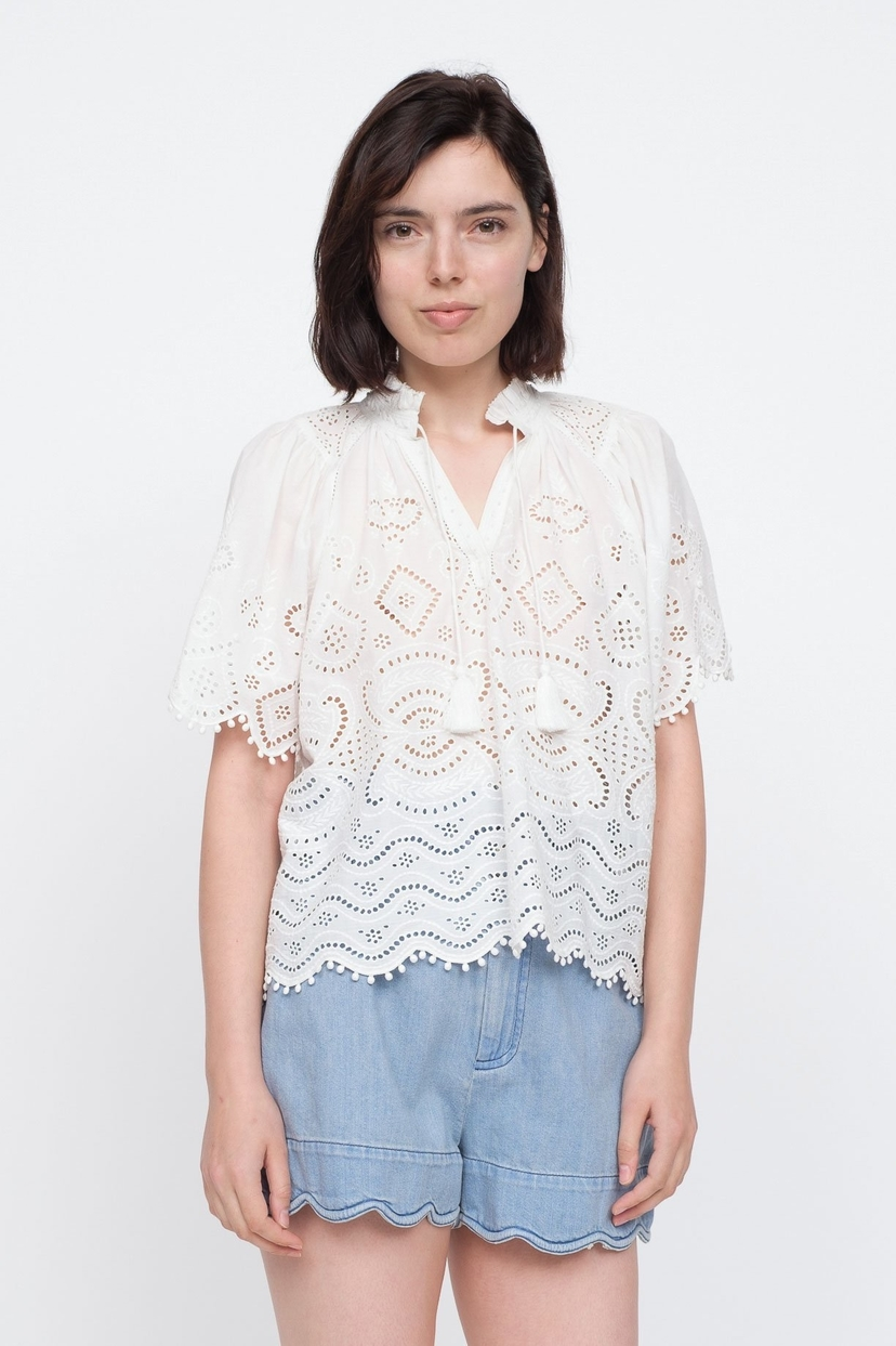 Sea Naomie Top - White Tops