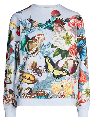 Mary Katrantzou Saker Seashell Sweatshirt Tops