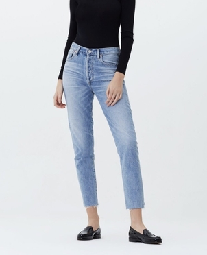 Citizens of Humanity Liya High Rise Classic Fit in Coastal Pants