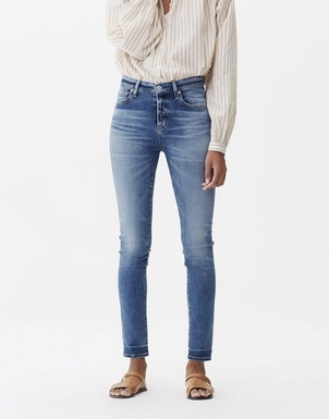 Citizens of Humanity Harlow Ankle High Rise Slim in Capeside Pants