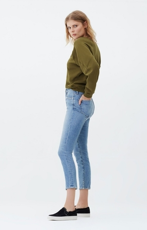 Citizens of Humanity Olivia High Rise Slim Crop in Outset Pants
