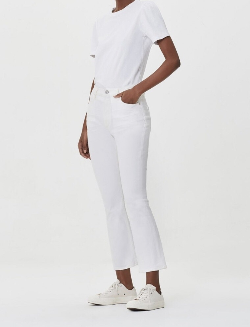 Citizens of Humanity Demy Crop Flare Jean in Unveil Pants