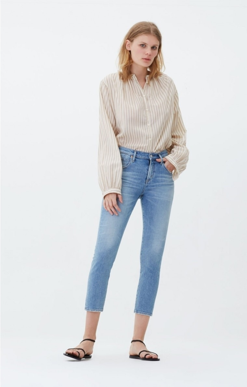 Citizens of Humanity Citizens Of Humanity Elsa Mid Rise Crop in Renew Pants