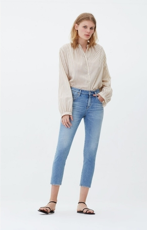 Citizens of Humanity Elsa Mid Rise Crop in Renew Pants
