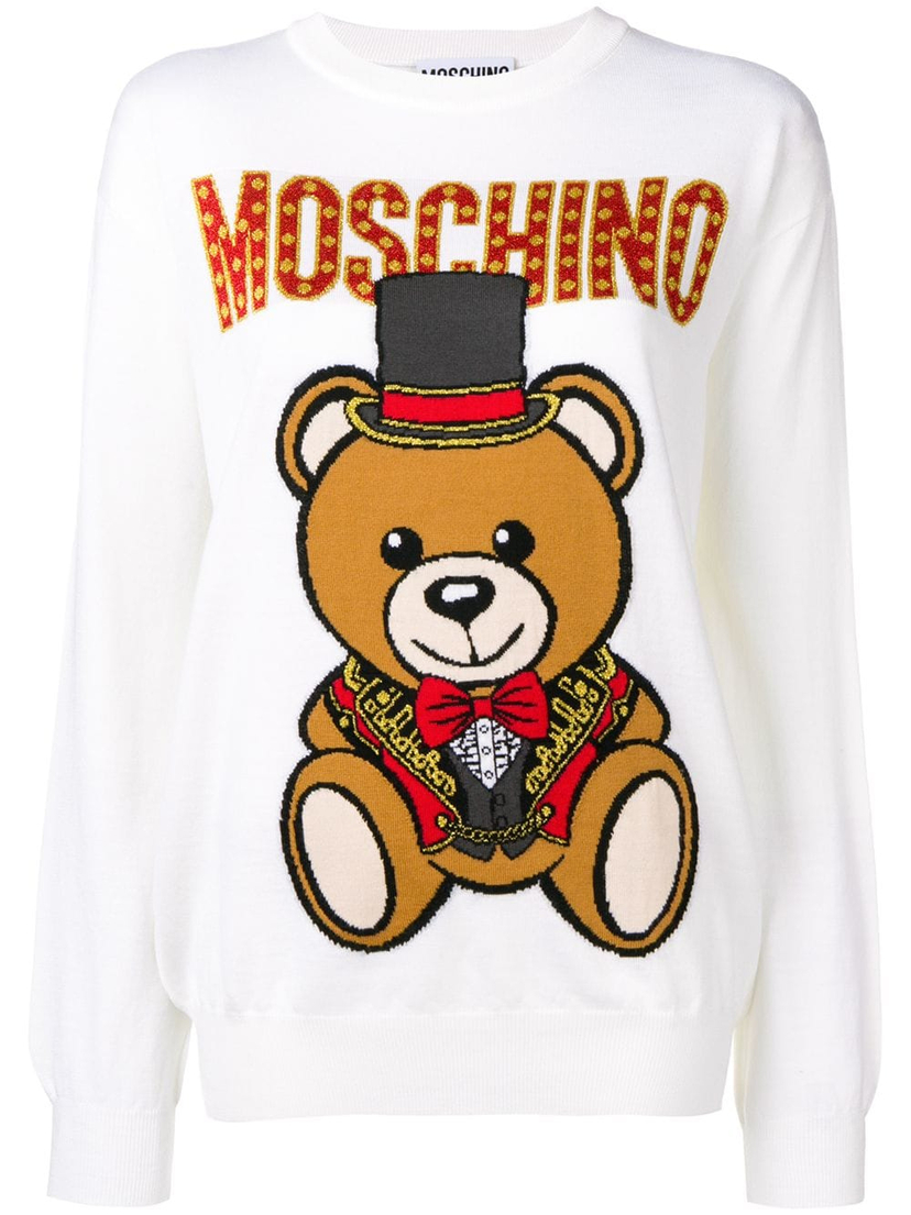 Moschino Circus Teddy Bear Sweater Tops