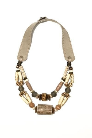 Twine & Twig Woven Classic Necklace   Woods Jewelry