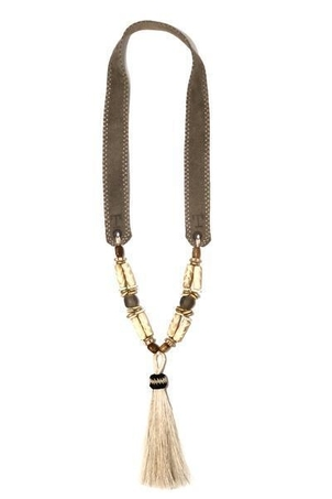Twine & Twig Tassel Horse Hair Necklace | Woods Jewelry