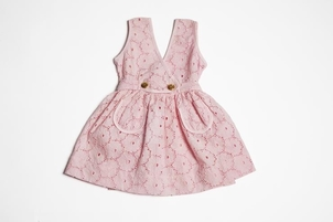Troisoeurs Dress Alice Pink Kids
