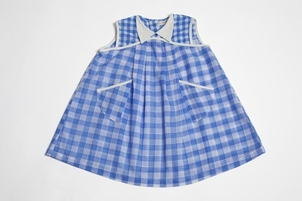Troisoeurs Dress Martine Blue Kids