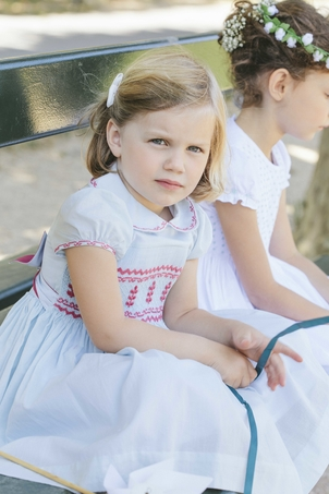 Antoinette Antoinette Dress - Princess Charlotte Sky Blue Kids
