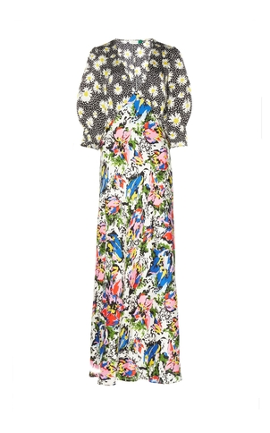 Rixo London Zadie Printed Dress Dresses