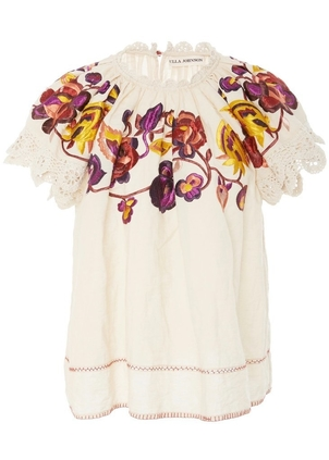 Ulla Johnson Rumi Top - Natural Tops