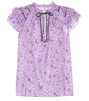 Ulla Johnson Ida Top - Lilac Tops